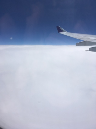 Clouds over the Pacific March 2018