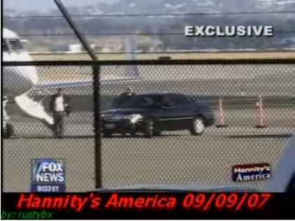 ````Lear Jet Gore gets in his limousine