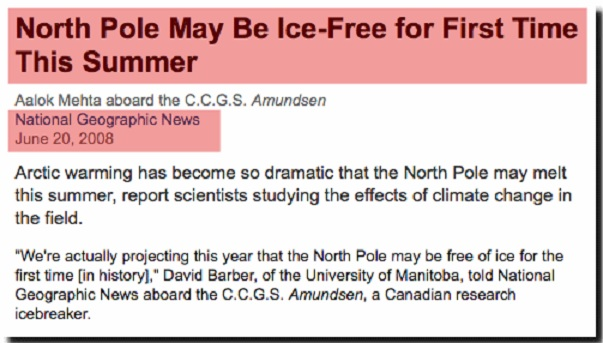 North Pole to be free of ice