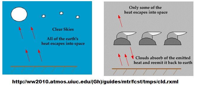 `Water predominant greenhouse gas